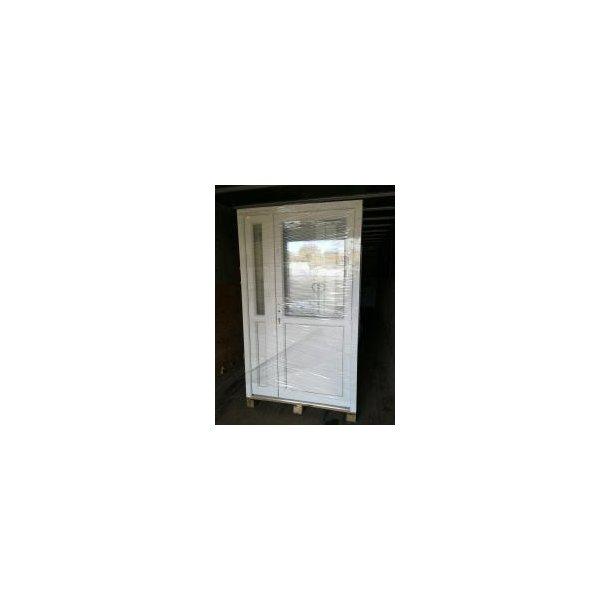 Glas/panel B 120 x H 210 Dobbelt dør